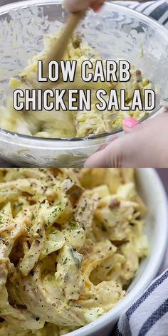 Low carb chicken salad full of pickles eggs onion and pecans! Such a great lunch! Low carb chicken salad full of pickles eggs onion and pecans! Such a great lunch! Comida Diy, Comida Keto, Ketogenic Recipes, Low Carb Recipes, Diet Recipes, Snack Recipes, Dessert Recipes, Ketogenic Cookbook, Recipes Dinner
