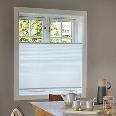 Leah opp&ned lysfiltrerende plissègardin, Hvit, 100 x 160 cm Windows, Interior, Kid, Velvet, Child, Indoor, Kids, Interiors, Ramen