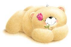 Teddy in Love Teddy Bear Pictures, Blue Nose Friends, Bear Cartoon, Love Bear, Tatty Teddy, Cute Teddy Bears, Baby Scrapbook, Cards For Friends, Cute Images