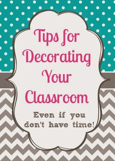Tips for Decorating Your Classroom | Minds in Bloom