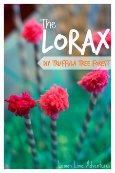 Lorax Truffula Tree Forest Sensory Bin: Simple, Easy and cost under $5. Can use at a party as an activity or in a center.