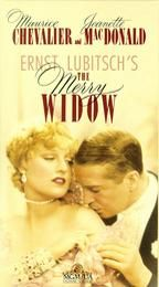 """""""THE MERRY WIDOW"""" (1934) JEANETTE MACDONALD, MAURICE CHEVALIER"""