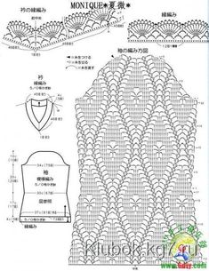 Irish lace, crochet, crochet patterns, clothing and decorations for the house, crocheted. Crochet Motifs, Crochet Diagram, Crochet Chart, Filet Crochet, Irish Crochet, Crochet Stitches, Knit Crochet, Crochet Patterns, Crochet Jacket