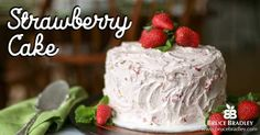 Looking for a special dessert that's perfect for a springtime meal? Look no further than Bruce Bradley's recipe for Strawberry Cake. Made with real ingredients like 100% Whole Wheat flour this recipe proves cakes may be indulgent and delicious, but their ingredients don't have to read like a lab experiment.