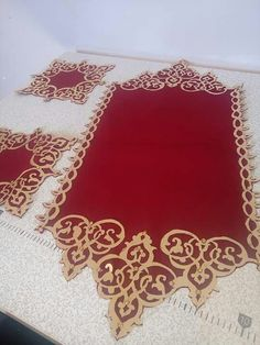 Motifs Islamiques, Curtain Styles, Wedding Crafts, Scatter Cushions, Table Covers, Laser Cutting, Hand Embroidery, Elsa, Stencils