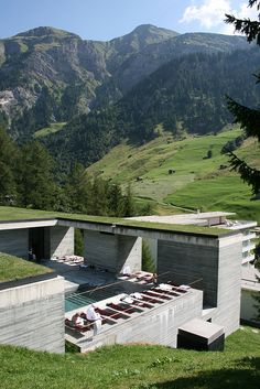 Thermal Baths Vals (1996)    Architect: Peter Zumthor  Location: Vals / Graubünden, Switzerland