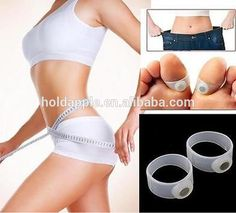 Hot Silicone Magnetic Massage Foot Toe Ring Keep Fit Slimming Lose Weight HA00540 #All_In_One, #Losing_Weight