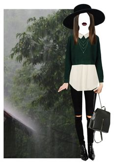 """""""Nearly Witches"""" by hanye ❤ liked on Polyvore featuring Topshop, ASOS and Oasis"""