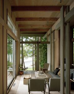 Olson Cabin, Longbranch, WA / Olson Kundig Architects