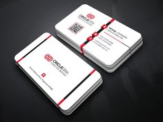 Elegant Business Card Templates This business card design is based on corporate style. The style is simple, also modern and elegant by Generous