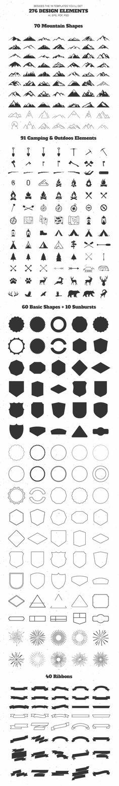 Berg im Freien Vintage Logo Kit - Logos - Tattoo ideas - . Berg im Freien Vintage Logo Kit - Logos - Tattoo ideas - . Future Tattoos, New Tattoos, Small Tattoos, Tatoos, Logo Design, Graphic Design, Ad Design, Hirsch Tattoo, Tatoo Art
