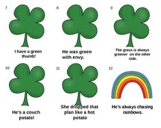 "FREE LANGUAGE ARTS LESSON - ""St. Patrick's Day Idioms""  - Go to The Best of Teacher Entrepreneurs for this and hundreds of free lessons.   4th - 6th Grade   #FreeLesson  #LanguageArts  http://www.thebestofteacherentrepreneurs.com/2015/02/free-language-arts-lesson-st-patricks.html"