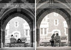 yale university engagement photos