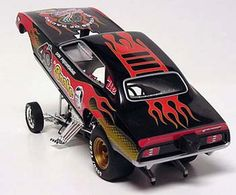 Don Prudhomme's 40th Anniversary Funny Car Diecast Scale Model by 1320 Inc.