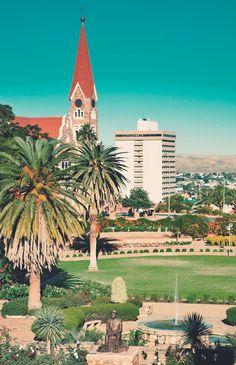 Ich will keinen Handyempfang. Namibia, Windhoek.