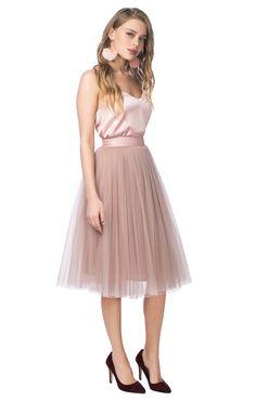 Пышная юбка-пачка длины миди T-skirt / 2000000090016