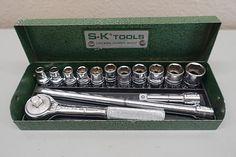 Antique Safe, Antique Stores, Antique Dolls, Sk Tools, Cool Tools, Tools And Toys, Hummel Figurines, Antique Clocks, Socket Set