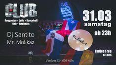 Diesen SAMSTAG ab 23 h DA CLUB / Latinas @ E-feld Cologne  #Reggaeton #Dancehall #Latin #Afrobeat #RnB #French #party #chill #chilling #clubbing #friends #goodtimes  DJ SANTITO (Ponte Loca) MISTER MOKKAZ (Nachtflug)  für die Gästeliste:  https://www.facebook.com/events/419606771830214/