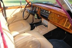 Jaguar Mark 2 interieur