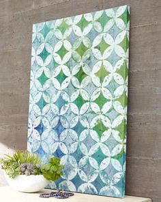 "Ask Courtney~H6SSA Outdoor ""Circle Diamond"" Painting"