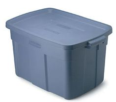 Everyone has to pack their things in ONE storage bin. No damp clothes from dew or flooding.
