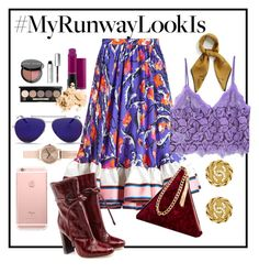 """""""When in NYFW"""" by dindamariana on Polyvore featuring Emilio Pucci, Malone Souliers, Street Level, Alexander McQueen, Mulberry, Chanel, Bobbi Brown Cosmetics, MAC Cosmetics and MANGO"""