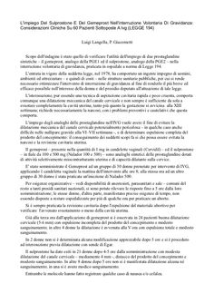 Considerazioni sulla legge 194 da parte del ginecologo Luigi Langella.