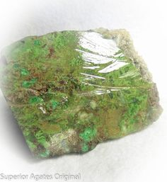 Green Chrysocolla Lapidary Slab for Cabbing by superioragates, $5.00