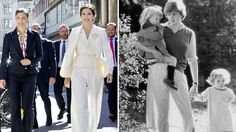 Princess Mary's chic-but-sheer Diana fashion moment