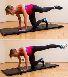 Side Kicks - 8 Simple Exercises to Get Rid Of Saddlebags for Women