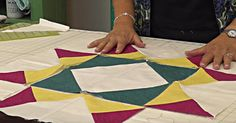 Looking for a fresh take on the traditional quilt patterns? Try making a rag quilt! Lone Star Quilt, Star Quilt Blocks, Star Quilt Patterns, 24 Blocks, Block Patterns, Quilting Tips, Quilting Tutorials, Msqc Tutorials, Missouri Quilt Tutorials