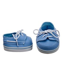 Build-A-Bear Workshop-United Kingdom: Powder Blue Deck Shoes - these are just lovely - it's nice to have something a little bit cuter for the boys to wear!
