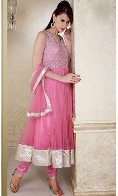 Aesthetic Pink Salwar Kameez
