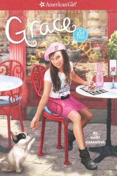 J SERIES AMERICAN GIRL. Nine-year-old Grace likes having a plan but she must find a way to be flexible and open to new ideas when she goes to Paris with her mother and has trouble getting along with her cousin, while at home her friends start the business she proposed without her.