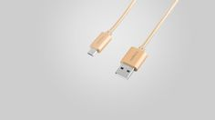 Rombica Twist Gold  #rombica #digitalyou #зарядка #оплетка #usb2.0