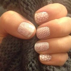 Leo, Geo & Lace. Jamberry wraps | nail art | manicure | Spring Summer Catalog 2015