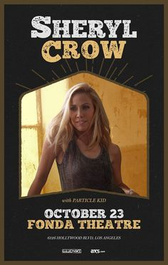 There isn't much more I can add to the impression that singer/songwriter Sheryl Crow is leaving on the world of music that my buddy Lex Voight hasn't already stated when she was last in LA back in June. Indeed, the quantity and quality of her music from the 90's right up until... #Crow, #Fonda, #Preview, #Sheryl, #Theatre Preview: Sheryl Crow @ Fonda Theatre  http://richcontent.xyz/preview-sheryl-crow-fonda-theatre/