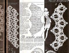 TRICO y CROCHET-madona-mía: Encaje de Brujas a Crochet-Aplicaciones de…