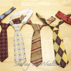 Toddler Neck Tie Tutorial