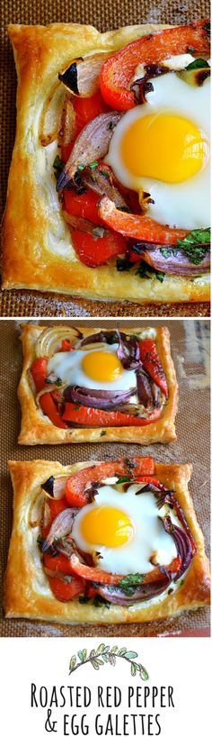 Frozen puff pastry makes this elegant breakfast easy to put together! And safe to eat when you use @SafeEggs!