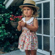 Heidi Suspender Skirt - Lacey Lane