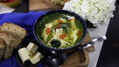 This isn't your average chicken noodle soup