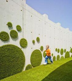 pomysł na zieloną scianę