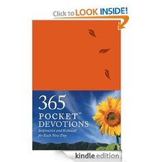 Amazon.com: 365 Pocket Devotions: Inspiration and Renewal for Each New Day eBook: Chris Tiegreen, Walk Thru the Bible: Kindle Store