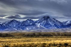 Big horn mountains in wy. Been there and they r gorgeous. One of my favorite places to visit & camp.