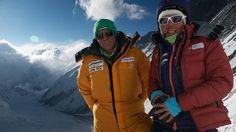 Gerlinde and Ralf in CIII at 7100m ©Ralf-Dujmovits.de