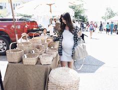 Farmer's market shopping. Bump pic via @briebeeks