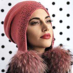 c080cf26a9ae9d 17 best Pom Pom Hats images in 2018   Fur pom pom, Pom poms, Winter hats