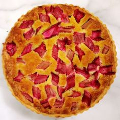 Crisp and Light. Luscious and Fruity. Rhubarb Frangipane Tart. | The Paddington Foodie