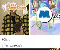 Hahahaha oh poor Jun! #SBSPopAsia